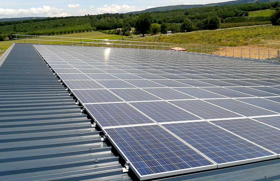 centrales photovoltaïques sur toitures
