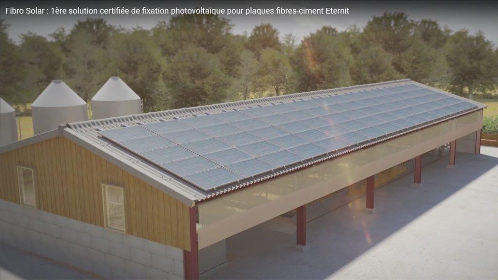 solutions dédiées aux grandes toitures photovoltaïques des exploitations agricoles